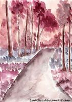 Pink Road by Ludifico