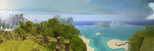 Minecraft Panorama by LilioTheOne