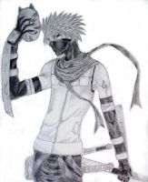 Anbu black ops Kakashi by kittykat27