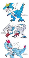 Tyrantrum Crossbreed by darksilvania