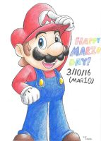 Mario Day by G-Bomber