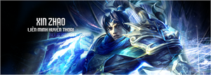 Xin Zhao signature design by etershine