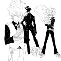 Hitman Reborn Sexies by jadza54