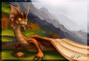 HTTYD Personal Dragon by AlpariArt