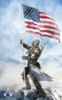 Connor Kenway -Assassin's Creed III by Netprincess