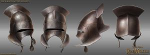 Uruk-Hai helmet by RobbieMcSweeney