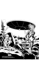 MARS ATTACKS: FIRST BORN #1 Cover by LostonWallace