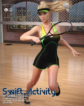 Swift Activity G3F by cosmosue
