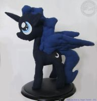 Princess Luna - First attempt - Plush by RaptorArts