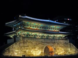 Namdaemun Gate Seoul Korea by es32