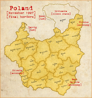 8th Alternate Map of Poland by Magnificate