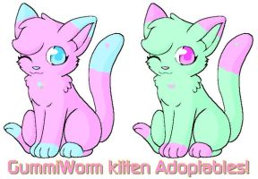 Gummi Worm Kittens Make Me An Offer (CLOSED) by xxsunslashxx