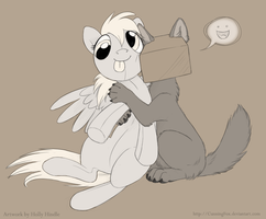 Hugs and Squishes by CunningFox