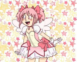 Madoka the Magical Girl by LittleGreenHat