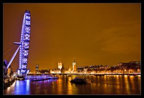 Lights of London 2 by WhiteWay