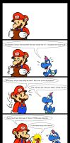 Paper Mario TTYD- Stupid Name by alien-cat