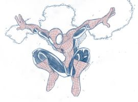 Spidey Sketch by Finfrock