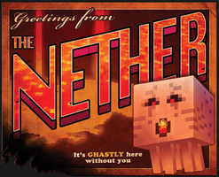 Greetings from the Nether by bensigas