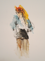 watercolour girl by Joojie99