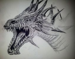 Dragon head by enivila