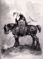 Frazetta's Death Dealer by myconius