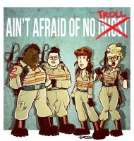 Ain't afraid of no ghost by albonet