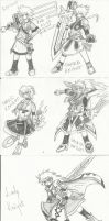 PROJECT - Makeover FULL Genderbend - Elsword by phoenixn91