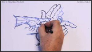 Learn how to draw hand positions 013 by drawingcourse
