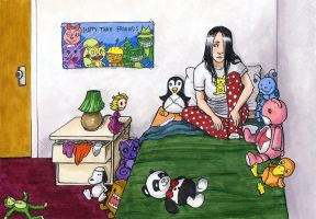 Lucy's Room by MelissaDalton