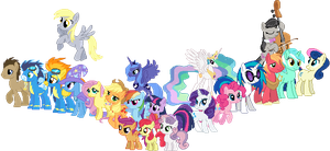 MLP Pony Series Sprites by Kevfin