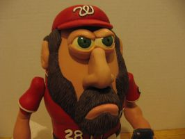 Jayson Werth Potatohead Eyes Closeup by Potatoheadmaster