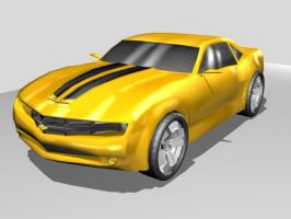 BB Camaro Fin by Laserbot