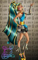 Monster High: Nefera DeNile by NemoTurunen
