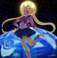 Pretty Sailor Senshi Sailormoon by n-nikute