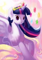 Princess series - Twilight Sparkle by amy30535