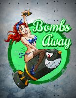 Bombs Away - Tori by hooksnfangs