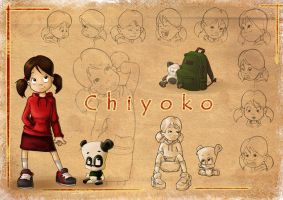 Chiyoko model sheet by ZAPF-zeichnet