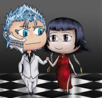 Grimmjow Soifon commission by synyster-gates-A7X