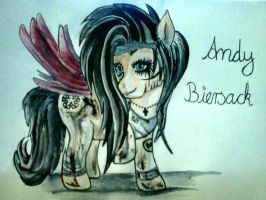 Andy Biersack as a My Little Pony by CreepahChick