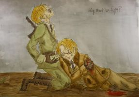 Hetalia: England and America by answerstotheuniverse