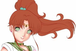 Sailor Jupiter in process by Didi-Esmeralda