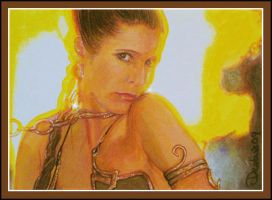 Star Wars -Slave Leia by DavidDeb