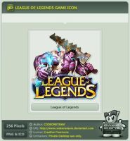 League of Legends Icon by CODEONETEAM