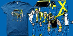 the X Team t-shirt by biotwist