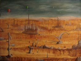 The Little Things - DESERTION by davegoldartgallery
