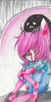 .:: Hurt Of Rain ::. by EvilPink95