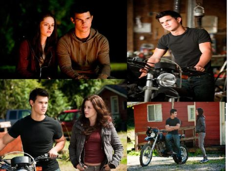 Jacob and Bella Moments by twilightfangirl93