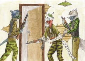 Urban Guerrillas coloured by SteinWill