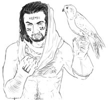 the Mummy : Ardeth Bay by LadyNorthstar