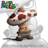 Toad version Super PAabloO Bros by PAabloO